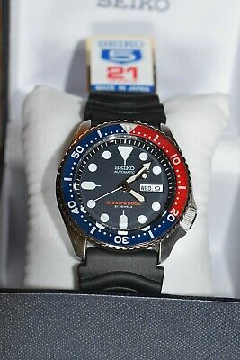 $ CDN400.01 • Buy Seiko SKX009J Automatic Blue Dial Stainless Steel 200m Diver Watch