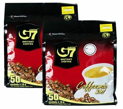 AU23.23 • Buy Trung Nguyen - G7 3 In 1 Instant Coffee - Up To 150 Sachets **Long Expiry**