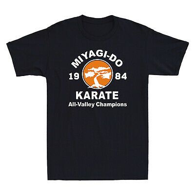 $14.29 • Buy Miyagi-Do Karate 1984 All-Valley Champions Funny 80s Movie Vintage Men's T-Shirt