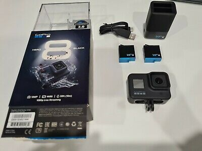 AU366 • Buy GoPro Hero 8 Black - Excellent Condition - Dual Battery Charger