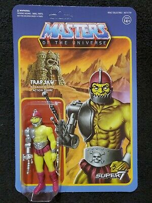 $14.50 • Buy Trap Jaw (Comic Green) SDCC ReAction Masters Of The Universe MOTU Mattel Super 7