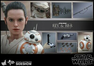 $ CDN210.81 • Buy Hot Toys Rey And BB-8 Star Wars Figure The Force Awakens