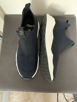 Womens ASH Sock Trainers Navy Black Size 39 UK 6 BNWOT • 8.30£