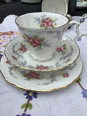 Royal Albert Cup, Saucer And Plate - Tranquility • 12£