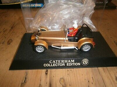 Scalextric Caterham/lotus 7 LTD EDITION OF 500 Only GOLD  BNIB COLLECTORS CAR  • 69.99£