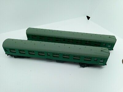 OO GAUGE BACHMANN MK1 Coaches X  2 CORRIDOR 2ND COACH S25942 NO BOX Southern Reg • 19.99£