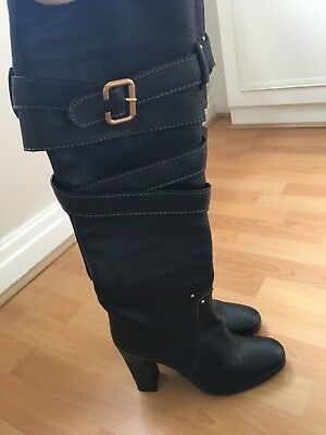 Preowned AMAZING  Chloe Knee High Boots Size 6.5 Fantastic Condition • 100£
