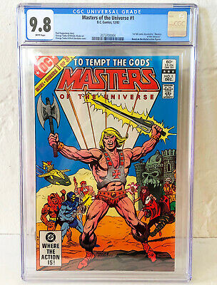 $179.99 • Buy Masters Of The Universe #1 CGC 9.8 First DC Issue George Tuska Art 1982