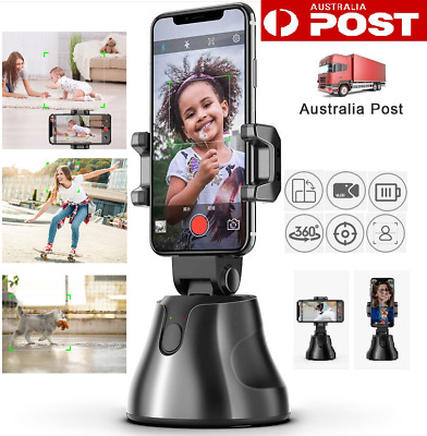 AU19.99 • Buy Wireless 360° Auto Face Tracking Camera Phone Mount Adjustable Tripod Stand