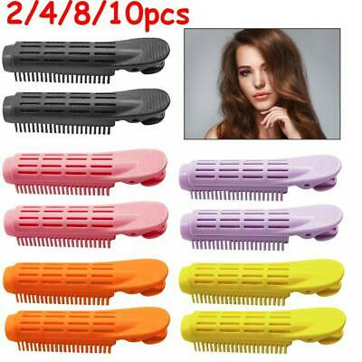 2/4/8/10X Volumizing Hair Root Clip Curler Roller Wave Fluffy Clip Styling Tool • 10.99£