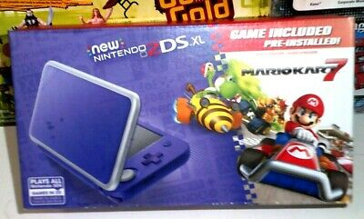 $ CDN237.21 • Buy  Nintendo 2DS XL  Purple/Silver With Mario Kart 7 Pre-installed Brand New In Box