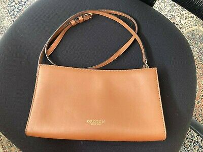 AU80 • Buy Ladies Handbag/Cross Body Oroton Tan Leather RRP$400.00