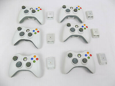 AU49 • Buy Genuine Microsoft Xbox 360 Wireless Controller White - Fully Tested! - Free Post