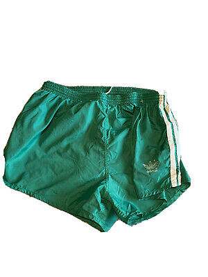 Vintage ADIDAS West Germany Running Shorts | Sprinter Gym Nylon Retro Shiny • 24£