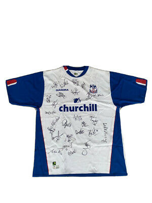 Crystal Palace Team Signed 04/05 Premier League Season Shirt • 124.99£