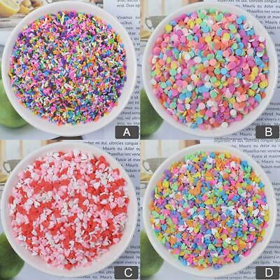 AU5.13 • Buy 100g Box Clay Sprinkles For Filler For Slime DIY Supplies Fake Decor Sale P2C1