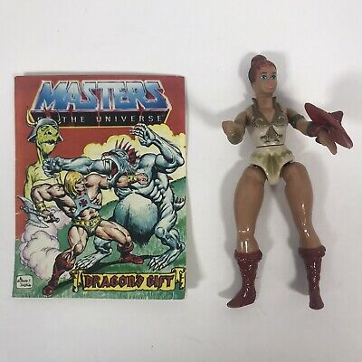 $12.99 • Buy VTG 1981 Mattel Masters Of The Universe Orig. Teela Figure MOTU Loose W / Shield