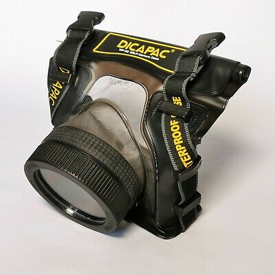 Dicapac WP-S5 Underwater Case For SLR Cameras / Camera Case / Waterproof / DSLR • 40£