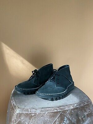 AU70 • Buy Rossi Ripple Sole Black Desert Boots Size 4 ADULT - Brand New Condition 4046