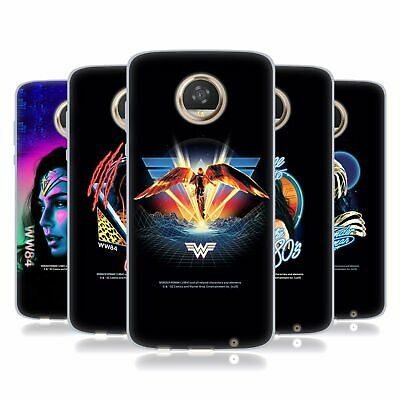 Official Wonder Woman 1984 80's Graphics Soft Gel Case For Motorola Phones • 9.95£