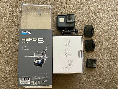 AU289 • Buy GoPro HERO 5 Black Sport Action Camera In Immaculate Condition + Second Battery!