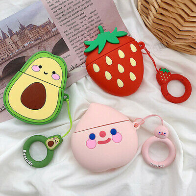 $ CDN4.88 • Buy Silicone Case Cover For Airpod AirPods 1 & 2 Airpods Pro Cases Cute 3D Cartoon #