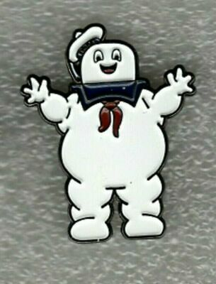 Marshmallow Man Pin Badge. Ghostbusters Metal. Enamel. Who You Gonna Call  • 2.50£