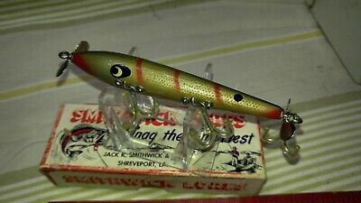 $ CDN33.32 • Buy Vintage Smithwick Devil's Horse Floater Fishing Lure In Box- Awesome Color  Ex