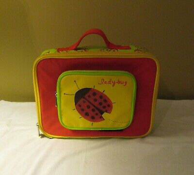 Crocodile Creek Insulated Lunch Box/Bag Zip Around Ladybug Pattern  • 2.83£