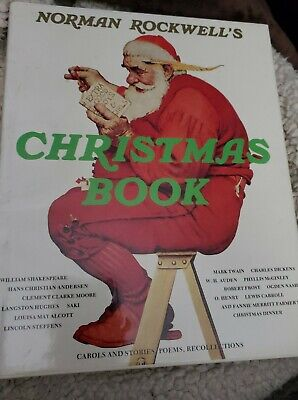 $ CDN6.65 • Buy Norman Rockwell Christmas Book (Carols, Stories, Poems, Recollections)1979 New