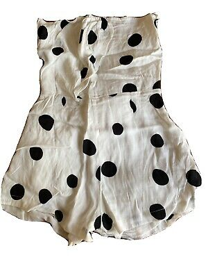 AU30 • Buy Zulu And Zephyr Playsuit Size Xs/8 Polkadot