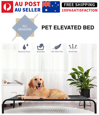 AU49.95 • Buy NEW Heavy Duty Pet Raised Bed Elevated Trampoline Hammock Cat Dog Raised Deluxe