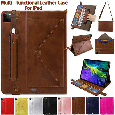 AU42.69 • Buy For IPad 8 Air  3 2 Pro 11 9.7 10.5 Mini 4/5 Case Card Leather Magnetic Cover