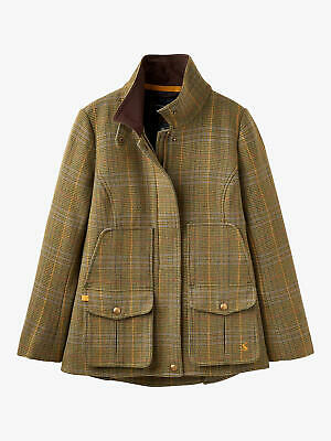 Joules Ladies Tweed Field Coat - Mr Toad - New With Tags • 185.95£