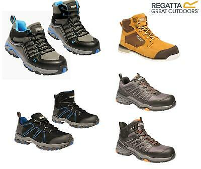 Regatta Mens Work Safety Protective Shoes Steel Toe Cap Boots Workwear • 26.99£