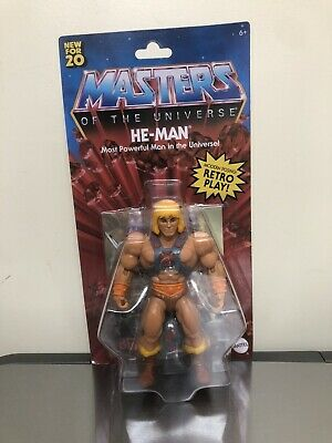 $24.96 • Buy MASTERS OF THE UNIVERSE ORIGINS HE-MAN WALMART EXCLUSIVE! Rare HTF Sold Out
