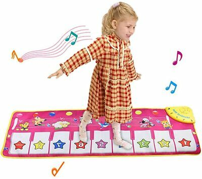 Piano Music Dance Mat, Educational Music Toys For 3+ Year Old Boys Girls  • 24.99£
