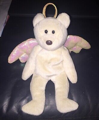 TY Beanie Babies Halo Teddy Number 425 Rare Retired -  Excellent Condition • 55£