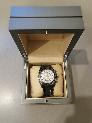 AU300 • Buy Guess Collection Mens Watch - Black With Opal Style Face