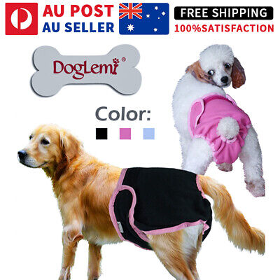 AU9.45 • Buy Female / Male Dog Puppy Nappy Diapers Belly Wrap Band Sanitary Pants Underpants
