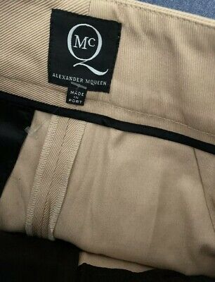 AU50 • Buy Rare❤Authentic Alexander Mcqueen Trouser Pants IT38 New Without Tag😍