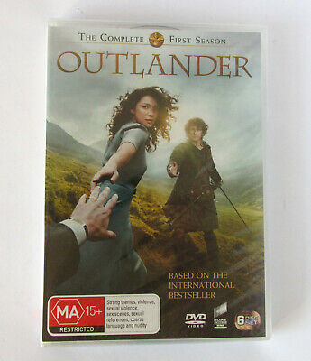 AU25 • Buy Outlander Complete First Season (16 Episodes / 6 Discs) Region 2,4,5 DVD NEW