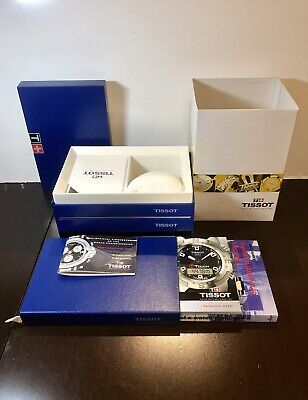 £34.39 • Buy TISSOT Blue Empty Watch Display Box, Outer Sleeve & Booklet Only [Complete Set]