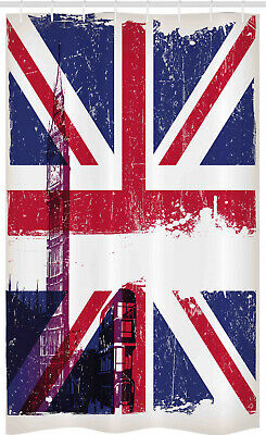 £17.99 • Buy Union Jack Stall Shower Curtain Country Culture Old