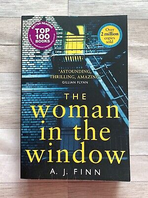 AU5 • Buy The Woman In The Window - By AJ Finn - Thriller - Book