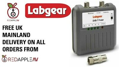 Labgear 27866R DVB T Signal Strength Finder Meter Tester Freeview HD TV Aerial  • 14.99£