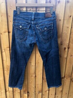 True Religion Ricky Relaxed Straight Fit Jeans Size 33 Short • 6£