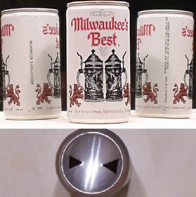 $1.79 • Buy Milwaukee's Best Beer Pull Tab Can 2 Two Steins Miller Milwaukee Wisconsin 47G
