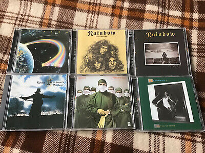 $ CDN50 • Buy RAINBOW  - 6 ALBUMS LOT ( 7 CDs) -   NO SCRATCHES