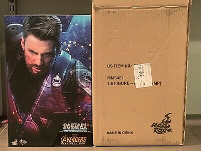 $ CDN25.36 • Buy Art Box And Shipper For Hot Toys 1/6 Scale Captain America Infinity War MMS481